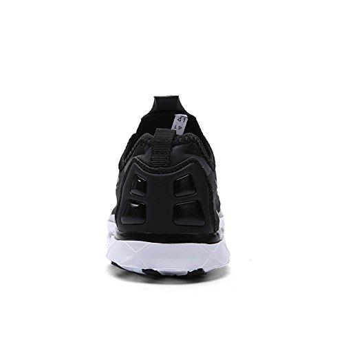 Schnell trocknende Aqua-Wasser-Schuhe der Zhuanglin-Frauen beiläufige gehende Schuhe Schwarz