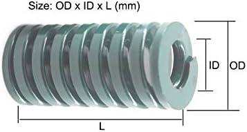 No Logo CCH-SPRING Druckfeder TH20x60//20x65//20x70//20x95//20x100mm Druckfeder gr/ün schwere Belastung 1 St/ück 20x60mm