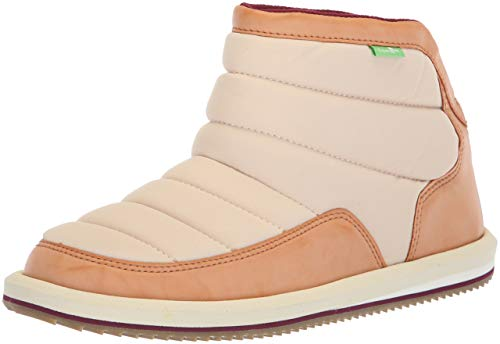 Boot Sanuk Malia Dollar Chill Women's Puff Ankle Sand N Ywgw4OqxS
