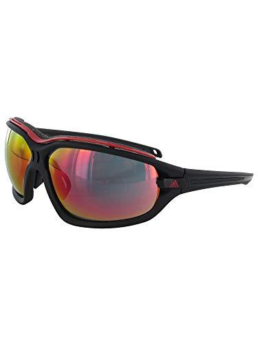 adidas Evil Eye Evo Pro L Rectangular Sunglasses, Black Matte/Black (Sunglasses Men Adidas)