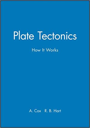 Plate tectonics how it works allan cox r b hart 8580001006444 plate tectonics how it works 1st edition fandeluxe Image collections