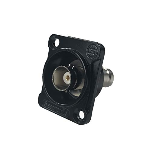 Elite Core Panel-Mount Connector | Seetronic MBB75DFG | BNC Feed Through ()