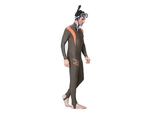 [CENARIUSA Wetsuits Sweethearts outfit Full Body Diving Suit for Snorkeling, Swimming Wetsuits (Men's,] (Full Body Costumes Sydney)