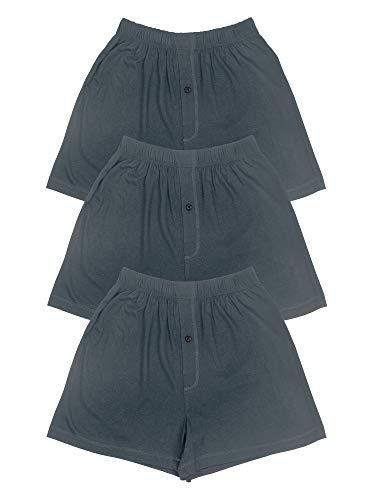 Texere Mens Boxer Shorts (Sancus, Charcoal, XL) Luxury Bamboo Boxer Shorts
