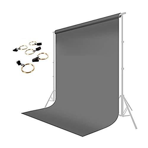 LimoStudio 10 x 13 ft. Photo Studio Muslin Backdrop Background Gray Photography...