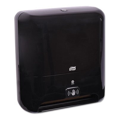 Elevation Matic Hand Towel Dispenser With Intuition Sensor, 13 X 8 X 14.5, Black