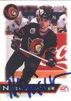 Norm Maciver Ottawa Senators 1993 EA Sports Autographed Card. This item comes with a certificate of authenticity from Autograph-Sports. Autographed ()