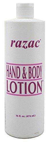 Razac Hand & Body Lotion 16 Ounce (473ml) (6 Pack) (Perfumed 16 Body Lotion Oz)