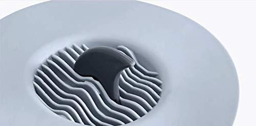 MEIZHAZHA Creative Pinna di squalo Tappo per lavandino da Cucina lavello lavabo Anti-Clogging Filtro