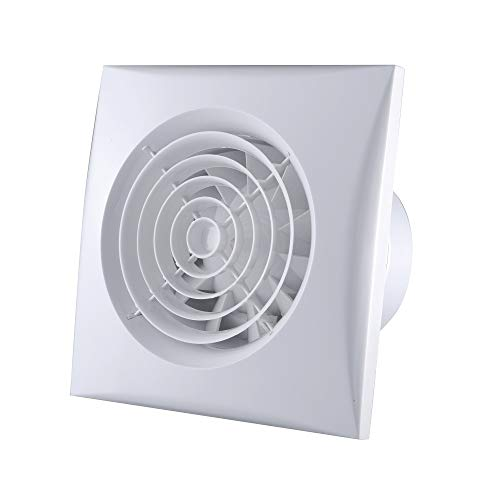 Bewox 4 Inch 100mm Bathroom Exhaust Toilet Extractor Fan 95m³/h