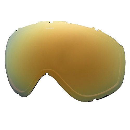 Masher Chrome (Electric Visual Masher Brose/Gold Chrome Snow Goggle Lens)