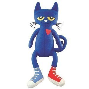 (MerryMakers Pete the Cat Plush Doll,)