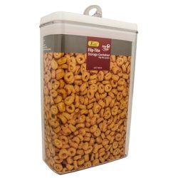 Felli® Flip Tite Acrylic Food Storage Rectangular Canister, 149 oz.
