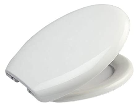Elegant Strong Oval Shaped Soft Close Toilet Seat With 5 Year Guarantee By EcoSpa