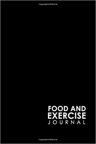 food and exercise journal daily food log food journal for weight
