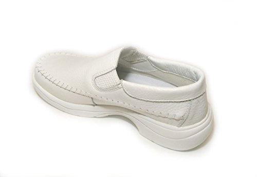 Easy Easy White Womens Soft Nurse Soft Wide shoes 1316 r4R8xr