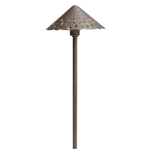 Kichler 15871TZT27 LED Hammered Roof Pathway Light
