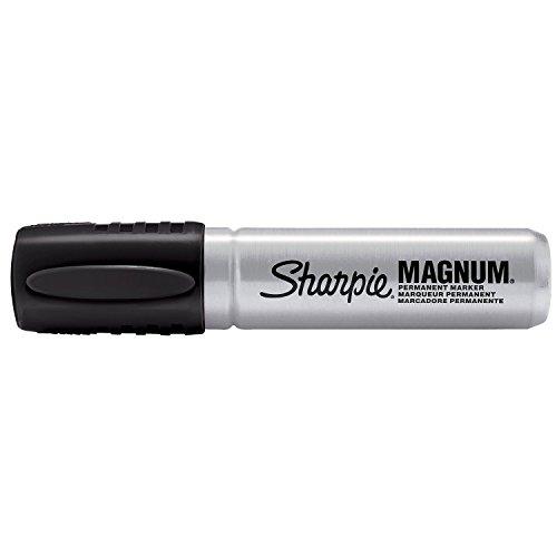 2-x-sharpie-magnum-permanent-markers-chisel-tip-black-12-count
