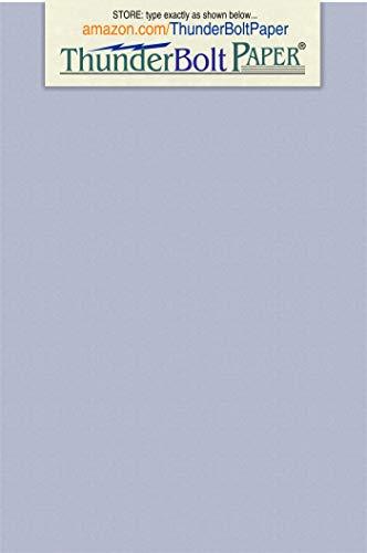 (150 Blue Violet Fiber 80# Cover Paper Sheets - 4