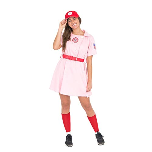 Easy 80's Costume Ideas (Women's Rockford Peaches Adult)