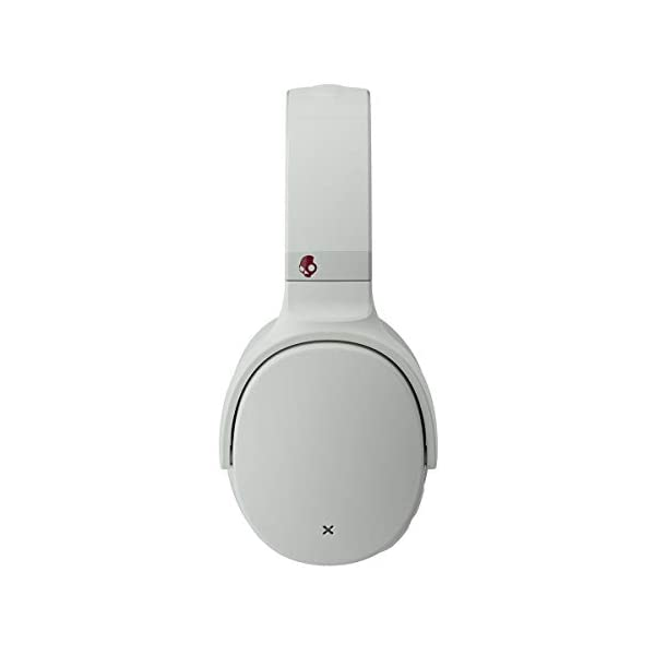Skullcandy Venue Active Noise Cancellation Wireless Over-Ear Headphone (Vice/Gray/Crimson) 2021 August RAPID CHARGE You have better things to do than wait for your headphones to charge. That's why Venue is equipped with Rapid Charge. Just 10 minutes of charging gives you 5 hours of use MONITOR MODE Need to talk to someone? Just press a button and Venue lets you answer a question or order a coffee without taking off your headphones ACTIVATE ASSISTANT With the quick touch of a button, you can use Venue to activate your device's voice assistant to get directions or message your friends
