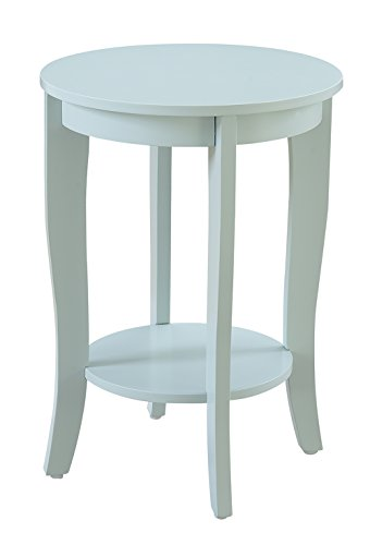 Convenience Concepts 7106259SF American Heritage Accent End Table, Sea Foam (End Accent)