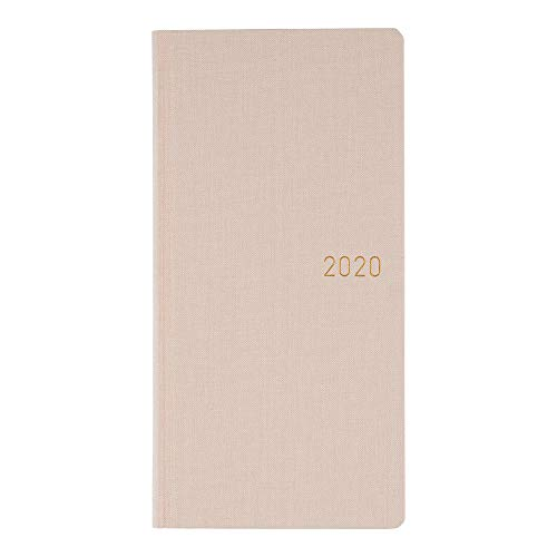 Hobonichi Techo Weeks - Colors: Shell Pink (Japanese/Wallet-Size/Jan 2020 Start)