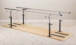 `Platform Mounted Parallel Bars 12'