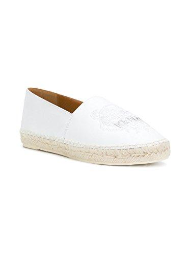 On Slip Kenzo Sneakers F852ES180L7001 Donna Pelle Bianco 6qZ54dwx
