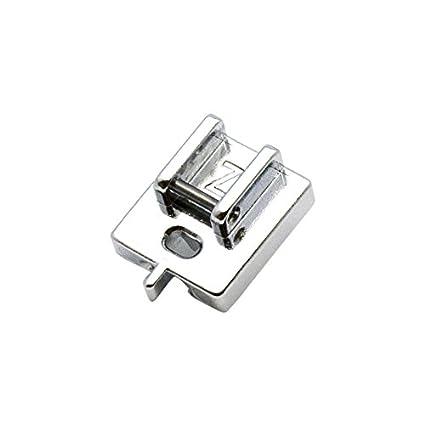 Alfa A200333001 - Prensatelas para Cremallera Invisible, Acero Inoxidable