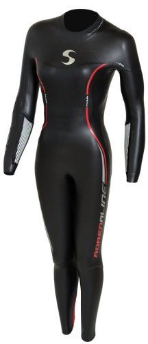 Synergy Adrenaline Women's Fullsleeve Triathlon Wetsuit - Triathlon Wetsuit Womens