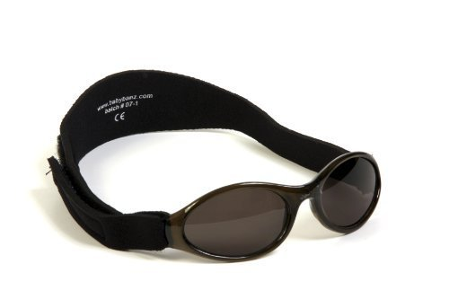 Adventure BanZ Baby Sunglasses, Midnight Black, 0-2 Years Baby BanZ