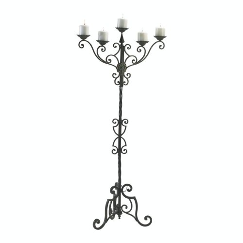 Cyan Design 01997 Rialto Floor Candelabra by Cyan Design