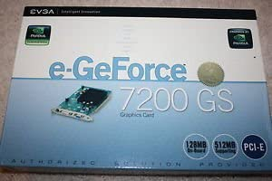 evga 128 P2 N428 BE Details About EVGA 128-P2-N428-LR GeForce 7200 GS 128MB DDR2 PCI-E