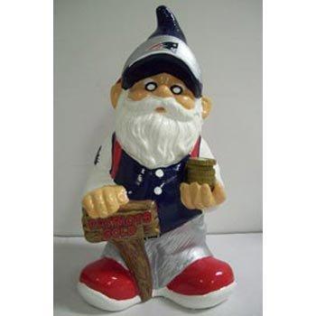 NFL New England Patriots Team Gnome Bank