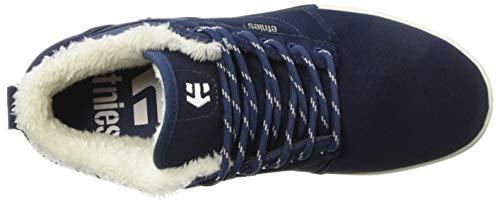 alte scuro High foderate da blu Jefferson Scarpe Sherpa marrone ginnastica Etnies Mid HqvxE