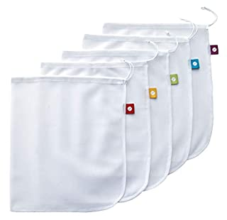 Flip & Tumble Reusable Produce Bag for Fruits and Veggies, White, One Size (Model:PBNA001) (B002UXQ7QQ) | Amazon Products