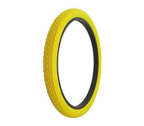 yellow bike tires - 5