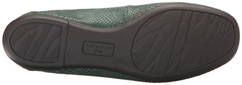 Klein Anne Noris Moccasin Leather Women's Green q1Tqa