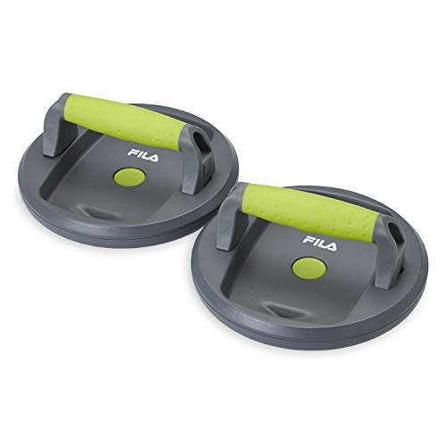 FILA Accessories Push-Up Pods for a Perfect Pushup (Set of 2) ()
