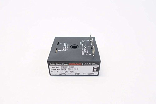 Solid Ssac State Timer (SSAC TSD241240M 240MIN SOLID STATE TIMER 120V-AC 1A AMP D536407)