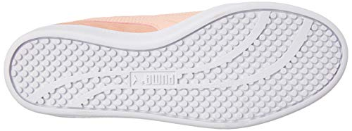 Smash basse peach silver rosa donna Sd Puma puma White Wns Sneakers Bud da V2 dzwqPX6xS