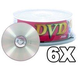 100 Ritek Ridata 6X DVD-RW 4.7GB by Ridata