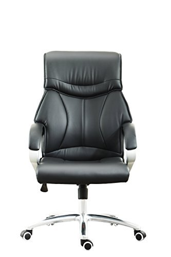 American Phoenix New Stytle Executive PU Leather Ergonomic Office Chair Desk Computer Chair With Metal Base, High Back Leather Executive and Managerial Fully Adjustable Office Desk Computer Chair.