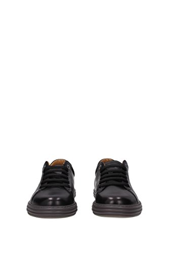 Salvatore Ferragamo Sneakers Newport Men - Leather (NEWPORT06777) UK Black looking for in China cheap online shop for cheap online dulSwW