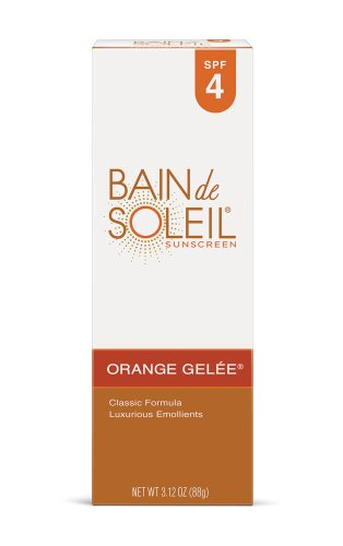 Bain de Soleil Orange Gelee Sunscreen, SPF 4 3.12 oz