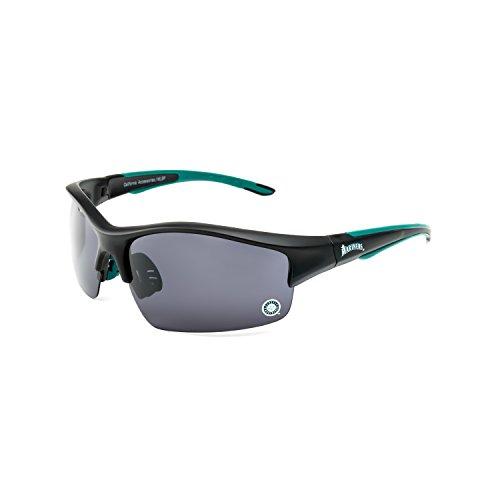CA Accessories MLB Seattle Mariners Power Hitter Sunglasses, Black