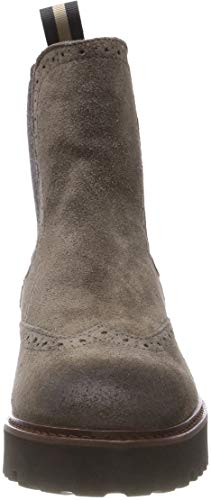 920 Femme Chelsea Gris grey Boots Marc O'polo qTxFOO