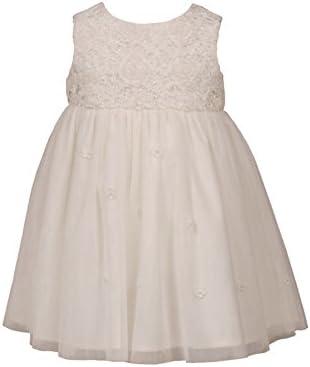 Heritage Lily - Girls Sleeveless Dress Antique White