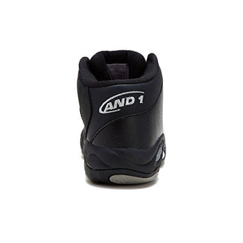 AND1 Mens Tai Chi Basketball Shoe 12 Black/Black